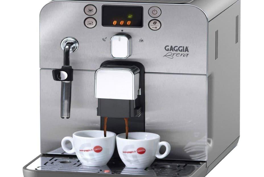 Close up of the Gaggia Brera coffee maker