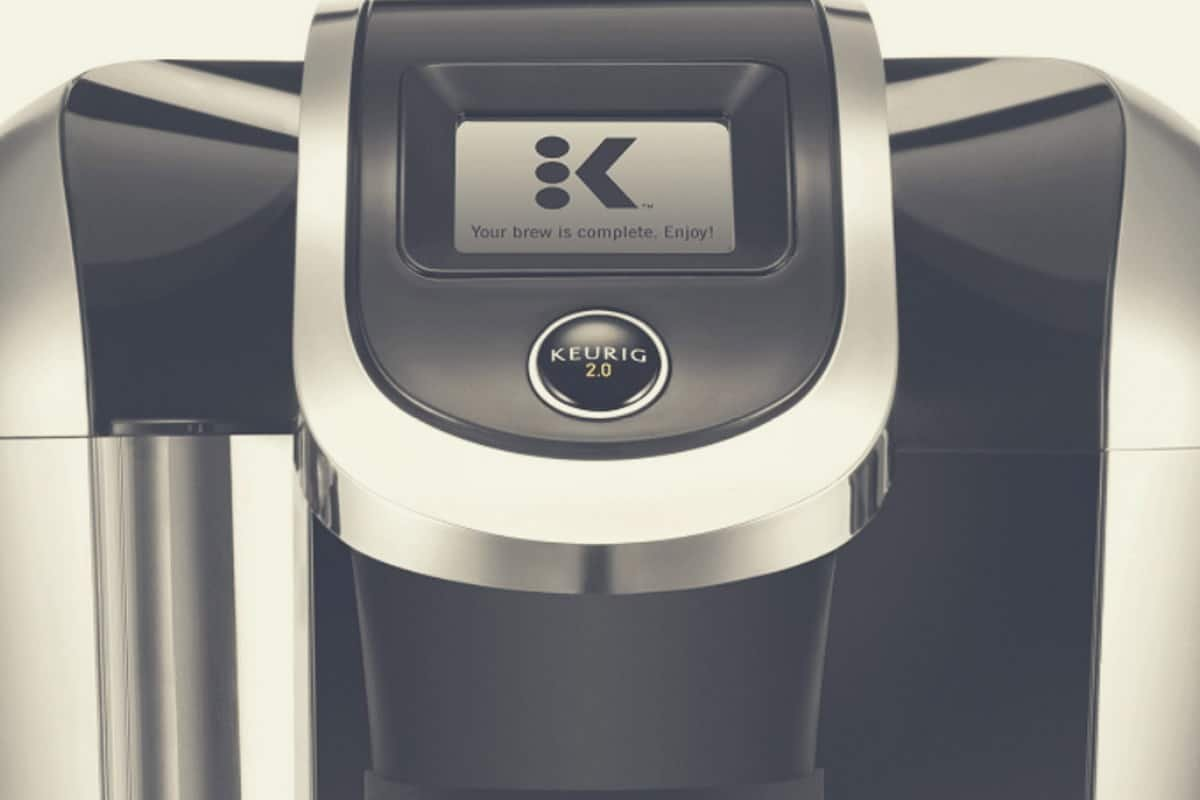 A close up shot of the Keurig K425